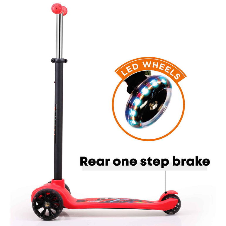 Little Pumpkin Classic Scooter For Kids With LED Wheels