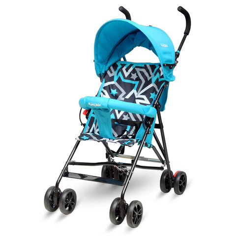 Little Pumpkin – Kiddie Kingdom Baby Stroller Buggy – Stroller (Blue)