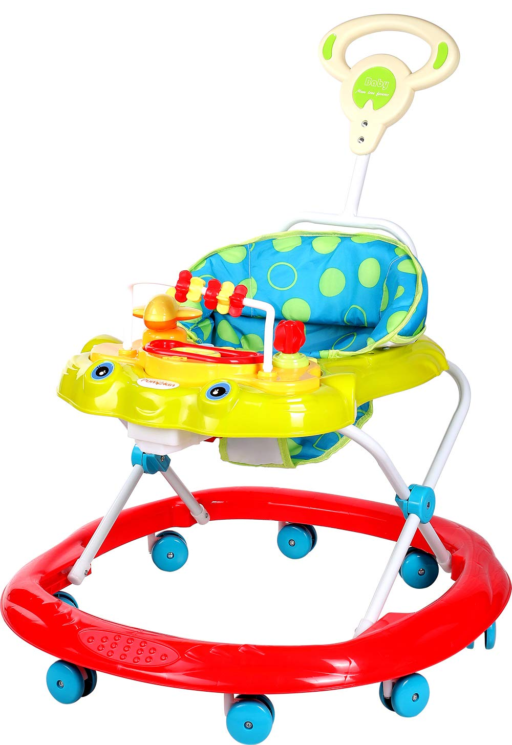 Little Pumpkin Classic Baby Walker Musical Toy Bar for Kids of 6 Months to 1.5 Year
