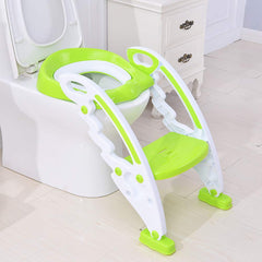 Little Pumpkin Classic Step Stool Ladder for Kids Potty or Toilet Training Seat