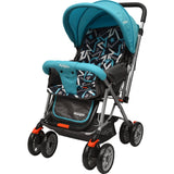 Little Pumpkin - Kiddie Kingdom Baby Stroller - Pram (Blue Black)