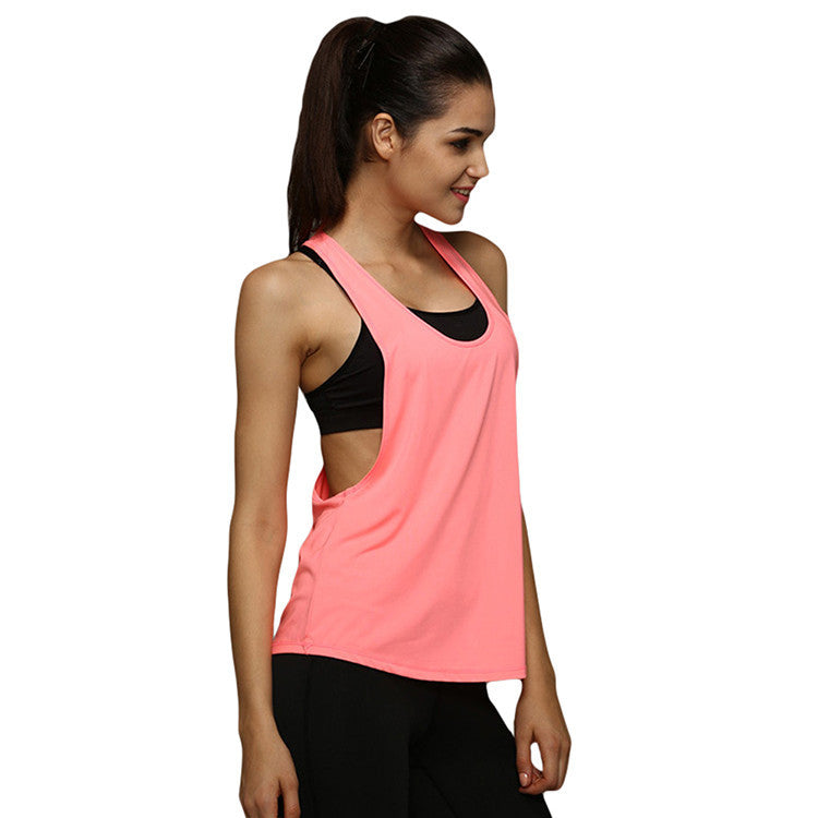 Loose Fitness Sleeveless Sexy Tank Tops