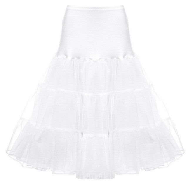 Retro Boneless Tutu Puff Skirt