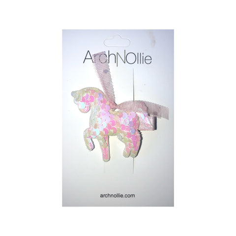 Sequin Unicorn Clip