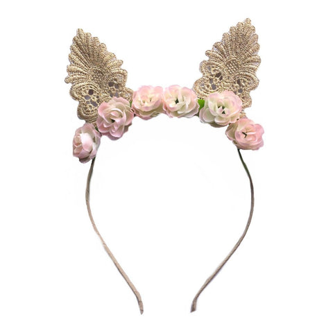 Cottontail - Floral Headband