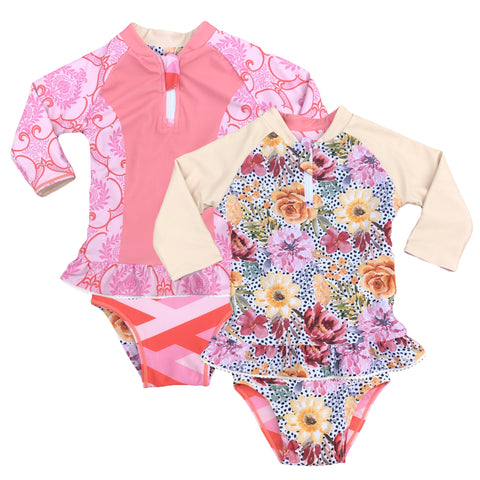 Royal Bouquet Reversible Separates Infants