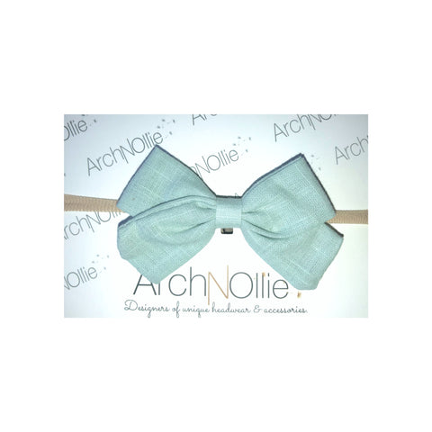 Sophia Linen - Mint single elastic
