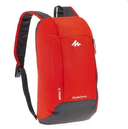 10-L Hiking Backpack– Red Grey
