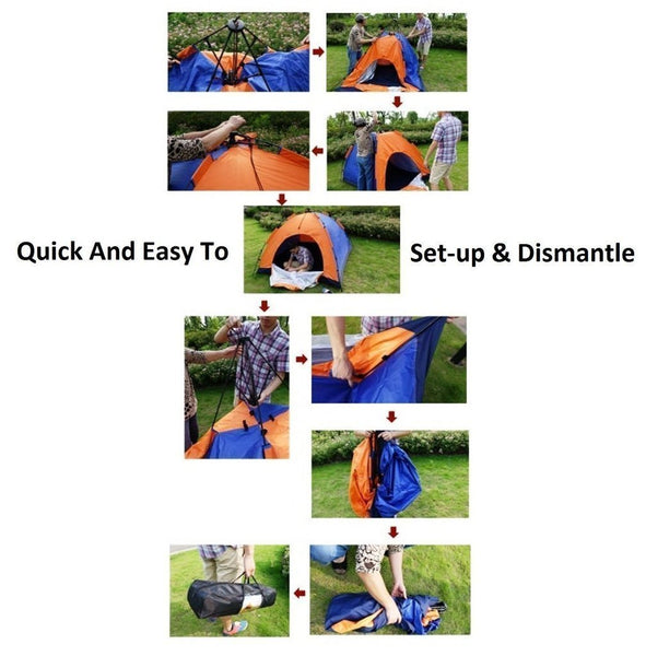 Multicolor 2 person tent
