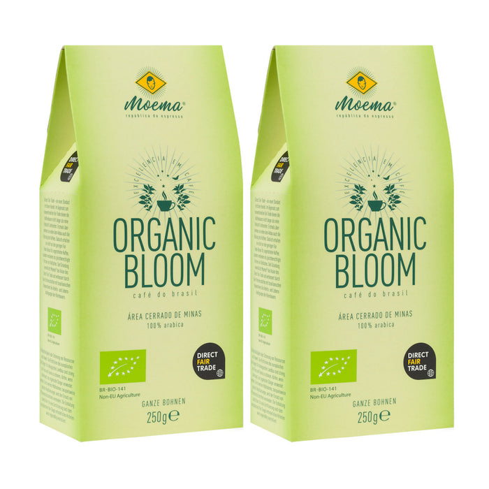 Kennenlernpaket Organic Bloom Bio Kaffee (2x250g)