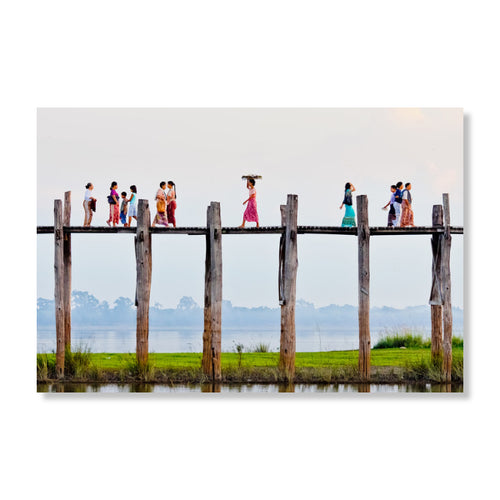 Wandbild u-Bein Bridge