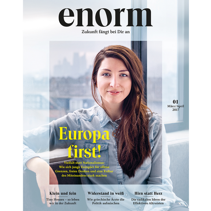 enorm 01/17 – Europa first!