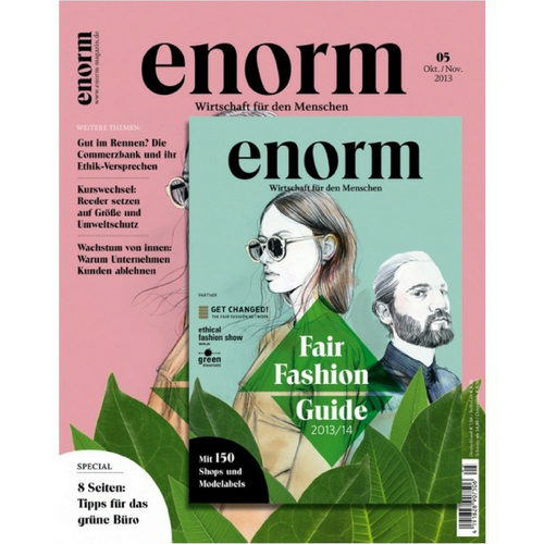 enorm 05/13 – Fair Fashion