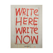 MADSAKI 'Write Here, Write Now' Book