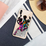 OMQ Boogie - Liquid Glitter iPhone Case