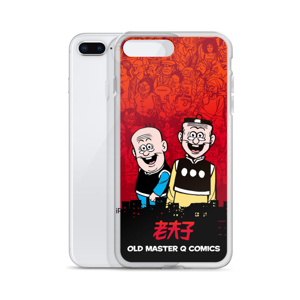 Old Master Q City - iPhone Case