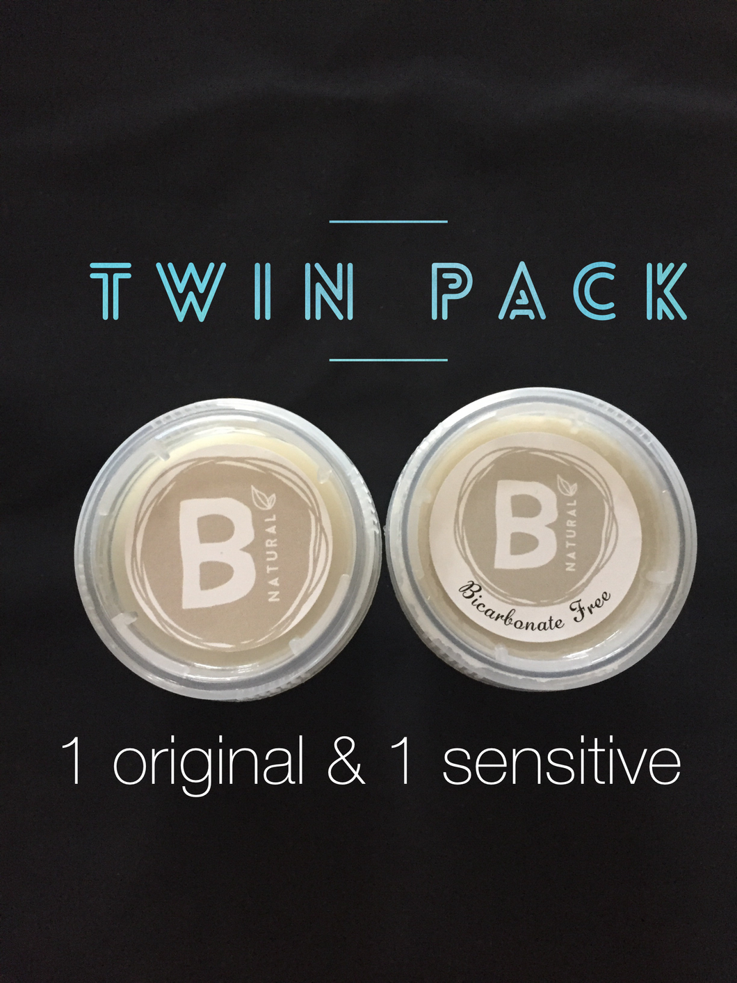 TWIN PACK- ONE ORIGINAL & ONE BICARBONATE FREE DEODORANT