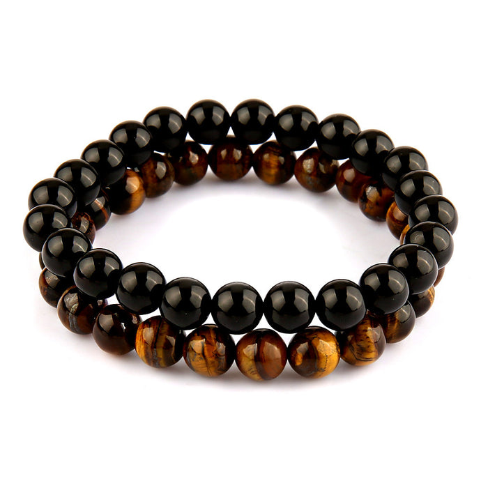 Luxury Handmade Natural Stone Beads Bracelet (2 styles)
