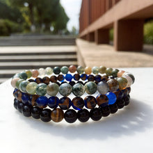 Semi-Precious Stone Bracelet (3-Pc Set)