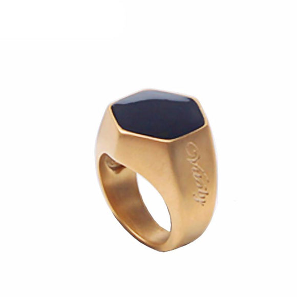 Forever Strength Titanium Steel Ring