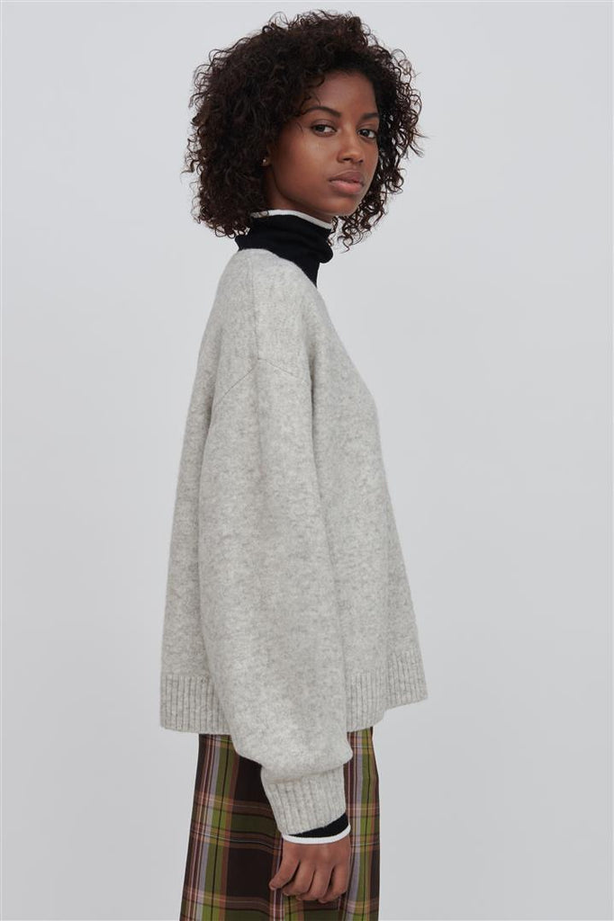 Faye Wool Sweater White
