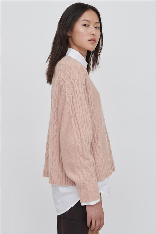 Fifi Wool Sweater Pink
