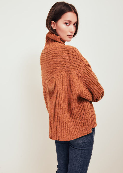 Matin Wool Sweater Orange