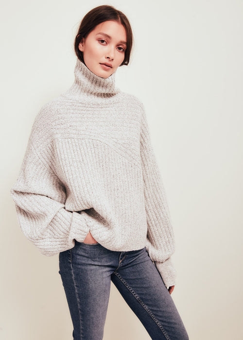 Matin Wool Sweater White
