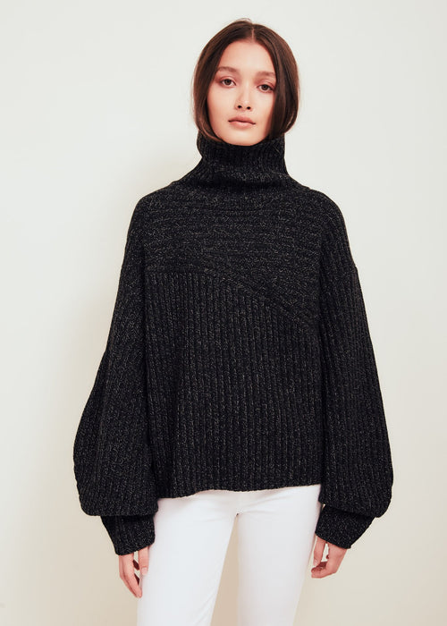 Matin Wool Sweater Black