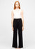 Black Viscose Wool Knitted Pants - Audrey