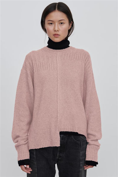 Pink Wool Blend Sweater - Romi