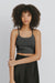 Black Cotton Tank Tops - Sabrina