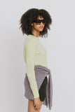 Loc Green Crew Neck Sweater
