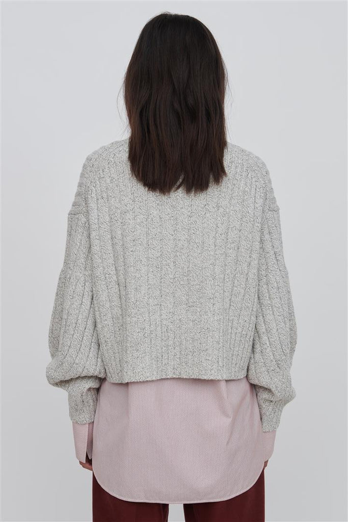 Mira Wool Sweater White