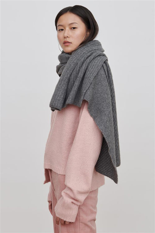 Romi Wool Blend Sweater Pink