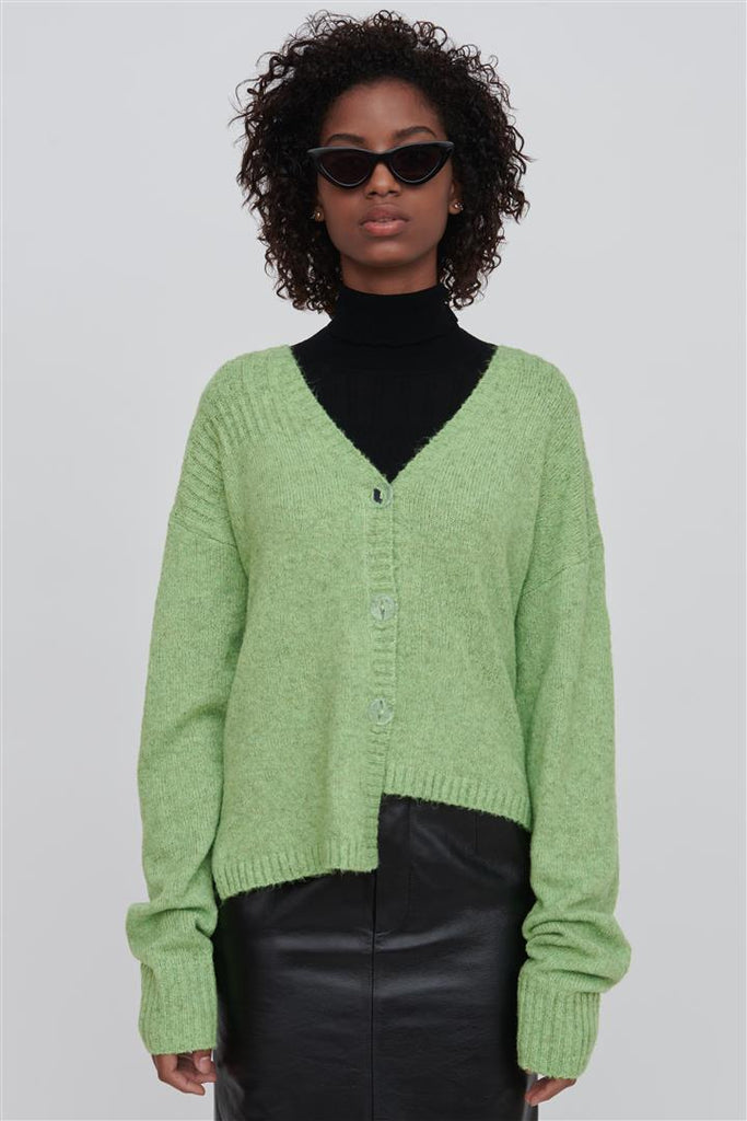 Zoe Wool Blend Sweater Green