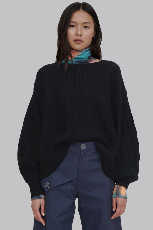 Fifi Wool Sweater Black