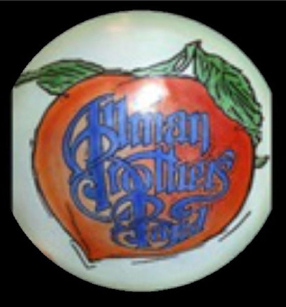 Custom Hand Dyed Disc For Disc Golf - Allman Brothers Band - Eat A Peach