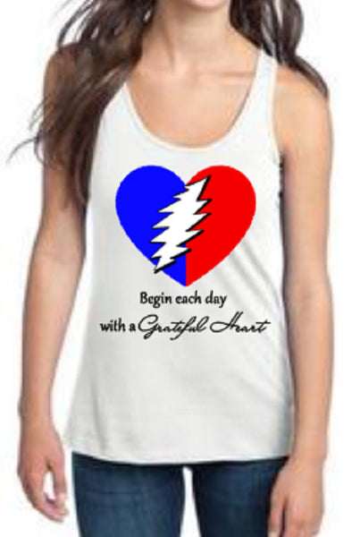 Grateful Heart Racer back Tank
