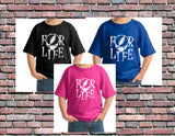 Youth (Toddlers) Dead For Life Tshirt