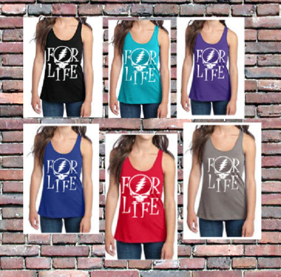 Dead For Life Women's Racerback Tank