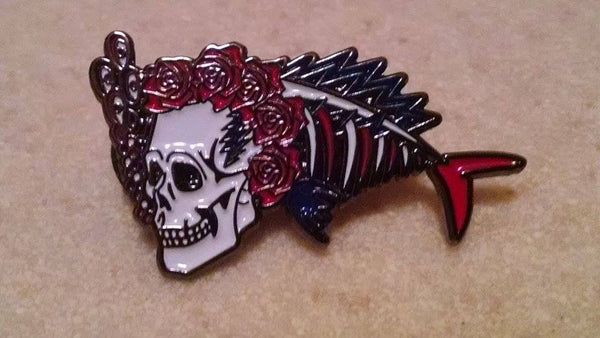 Dead Phish Hat Pin