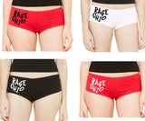3 Pack Rage Ohio Women's Hip-Hugger Short Panty