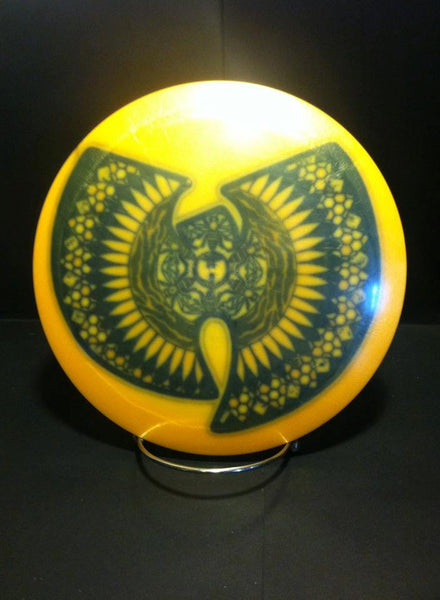 Custom Hand Dyed Disc For Disc Golf - Wutang