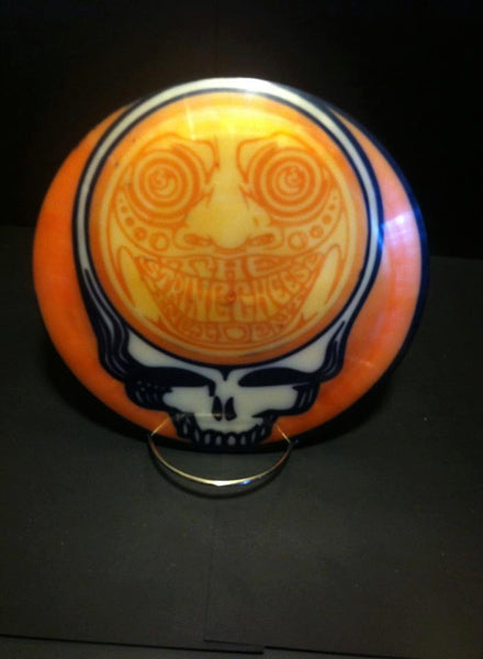 Custom Hand Dyed Disc For Disc Golf - String Cheese Incident Stealie