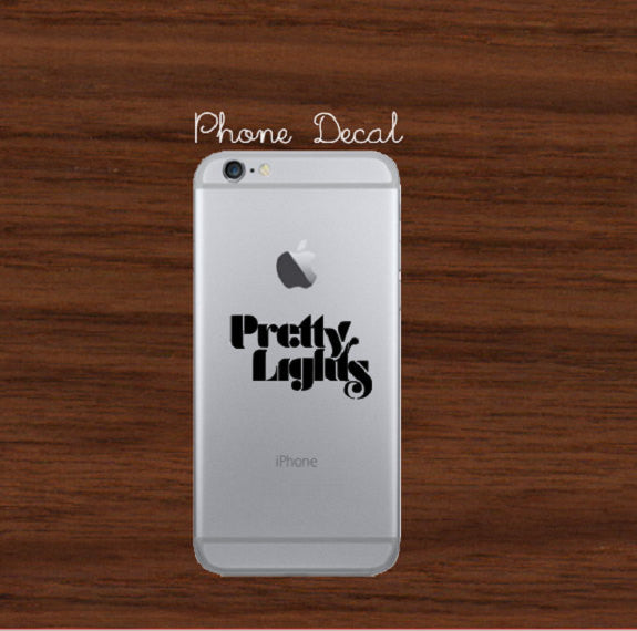 Pretty Lights Phone/ Laptop Decal