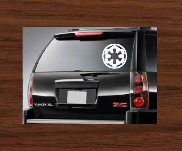 Star Wars Imperial Car Decal