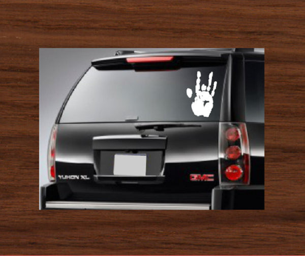 Grateful Dead Jerry Hand Car Decal