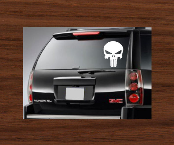 The Punisher Car Decal