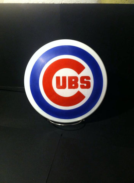 Custom Hand Dyed Disc For Disc Golf - Chicago Cubs